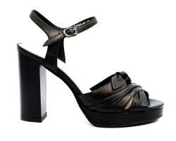 Босоножки на каблуке 2097-60 - фото