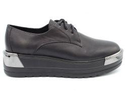 Туфли на толстой подошве 632-1 - фото