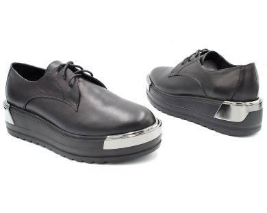 Туфлі на товстій підошві 632-1 - фото