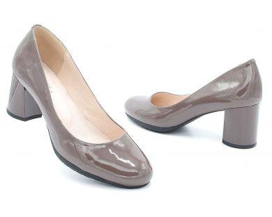 Туфлі човники на середніх підборах 3-356-12 - фото