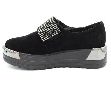 Туфлі на товстій підошві 632-15 - фото