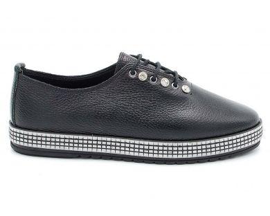 Туфлі на товстій підошві 031-251 - фото