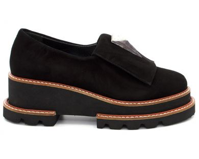 Туфли на толстой подошве 27725 - фото 0