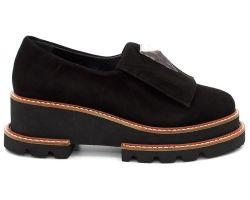 Туфли на толстой подошве 27725 - фото