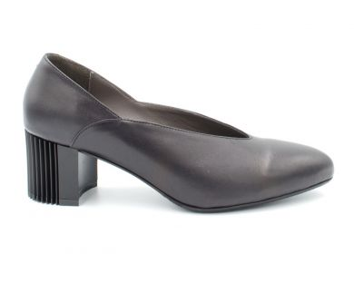 Туфли лодочки на среднем каблуке 2750 - фото 0