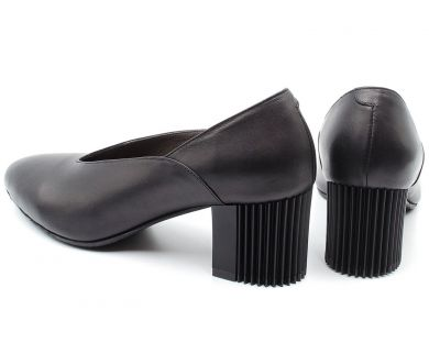 Туфли лодочки на среднем каблуке 2750 - фото 4