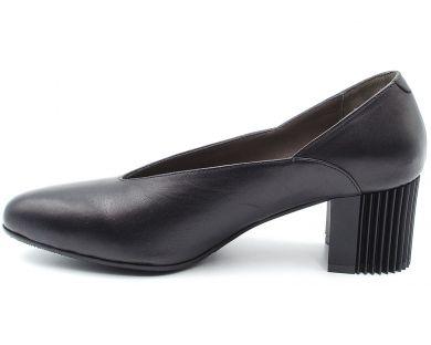 Туфли лодочки на среднем каблуке 2750 - фото 6
