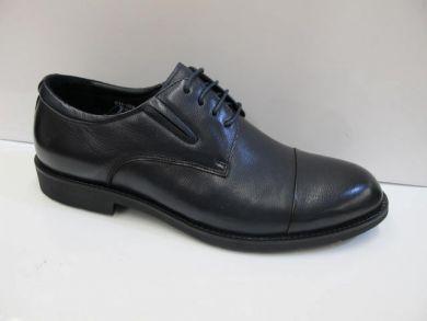Туфлі на шнурках класичні 1-02 - фото