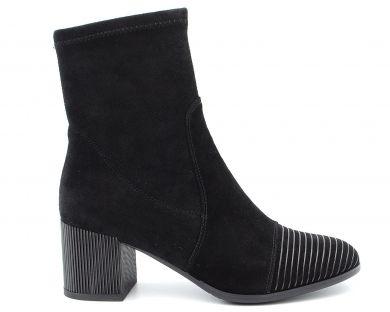 Ботинки на среднем каблуке 7-784 - фото
