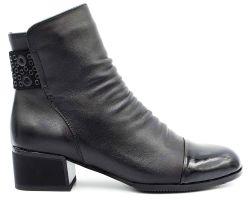 Ботинки на среднем каблуке 80-1 - фото