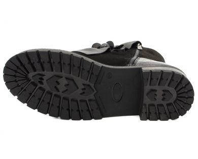 Ботинки на толстой подошве 2457 - фото