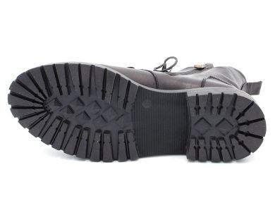 Черевики високі на шнурівці 7263 - фото