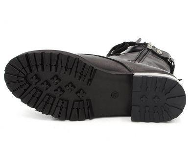 Черевики високі на шнурівці 902 - фото