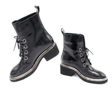 Черевики високі на шнурівці 5061-06 - фото