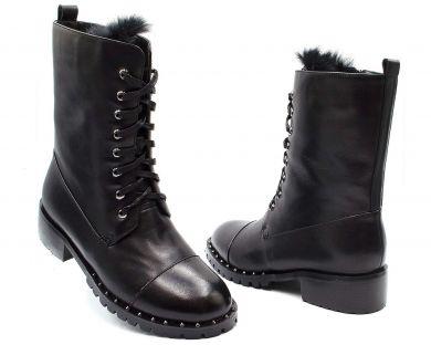 Черевики високі на шнурівці 197-215 - фото