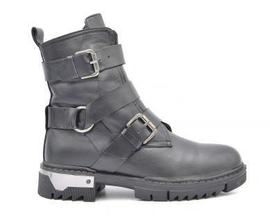 Ботинки с пряжками 6106 - фото