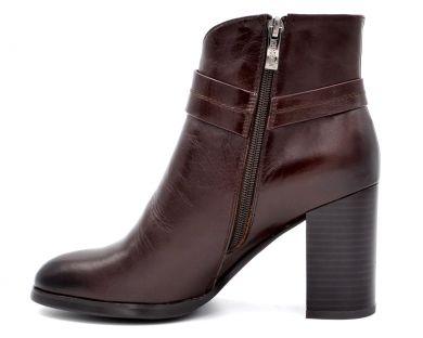 Ботинки на среднем каблуке 83-2 - фото