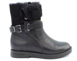 Зимние ботинки на низком ходу 1417-39 - фото