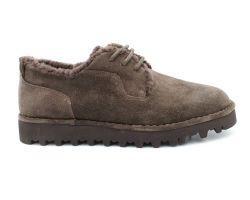 Туфли на меху 031-2 - фото
