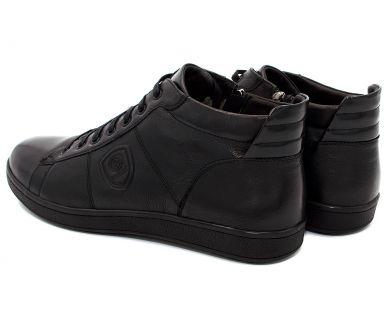 Ботинки спорт на меху 9816-1 - фото