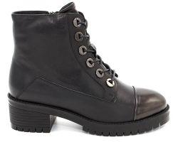 Зимние ботинки на толстой подошве 7011-511 - фото