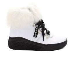 Зимние ботинки на толстой подошве 2558 - фото