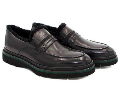 Туфлі з хутром 15-2 - фото