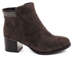 Зимние ботинки на каблуке 1866-51 - фото