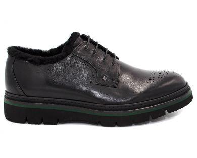 Туфлі з хутром 05-2 - фото