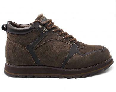 Ботинки комфорт на меху 2118-01 - фото