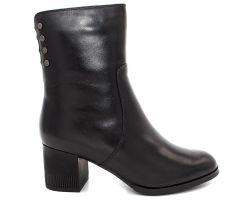 Зимние ботинки на каблуке 73-1 - фото