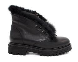 Зимние ботинки на толстой подошве 199 - фото