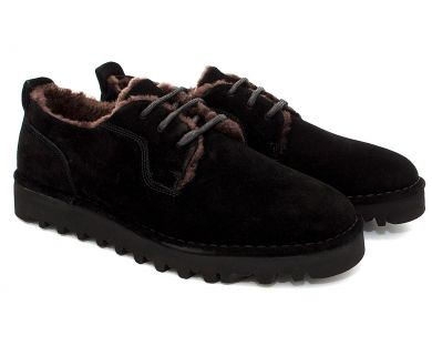 Туфлі з хутром 031-2 - фото