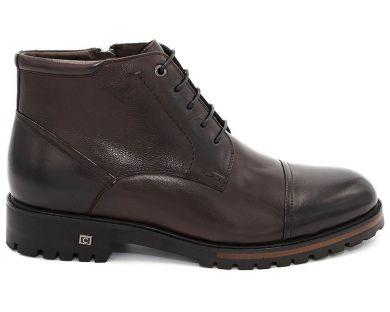 Ботинки классические на шнурках 608-5 - фото 0