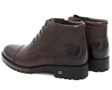 Ботинки классические на шнурках 608-5 - фото 4