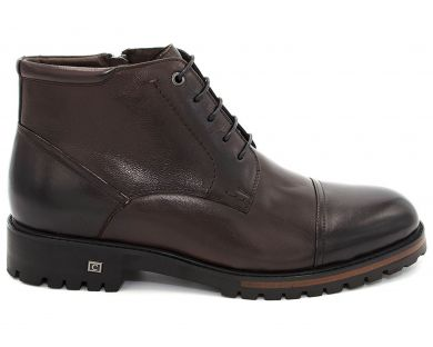 Ботинки классические на шнурках 608-5 - фото