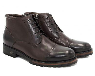 Ботинки классические на шнурках 608-5 - фото 8
