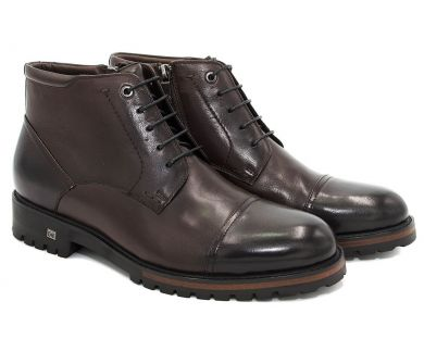 Ботинки классические на шнурках 608-5 - фото 18