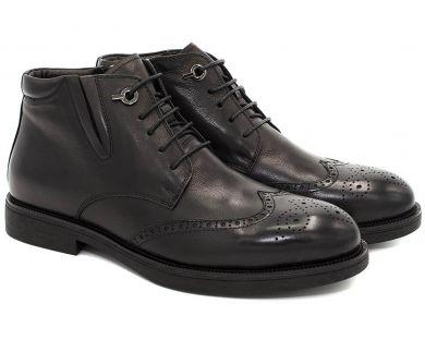 Ботинки комфорт на меху 9852 - фото 8