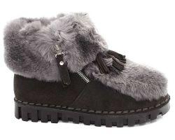 Зимние ботинки комфорт 8005 - фото