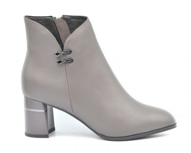 Ботинки на среднем каблуке 19-2-2 - фото