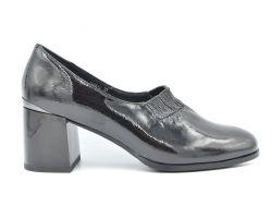 Туфли комфорт на каблуке 68-2 - фото