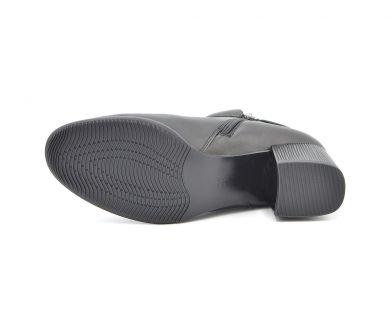 Ботинки на среднем каблуке 356-601 - фото