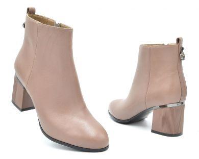 Ботинки на среднем каблуке 7662-2 - фото