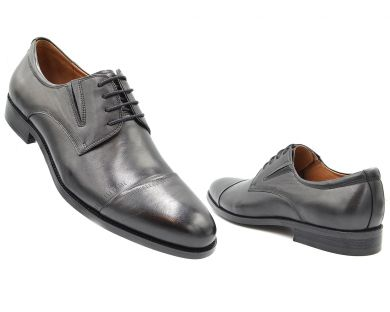 Туфлі на шнурках класичні 2259-1 - фото