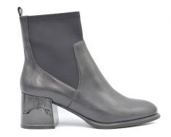 Ботинки на среднем каблуке 011-367 - фото