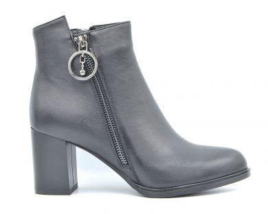 Ботинки на среднем каблуке 611-1 - фото