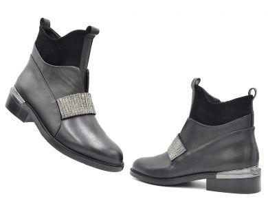 Ботинки с пряжками 5212 - фото