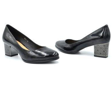 Туфлі човники на середніх підборах 67-1-12 - фото