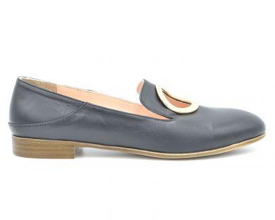 Туфли лоферы 1500-1 - фото